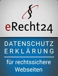 eRecht24 Datenschutzerklärung